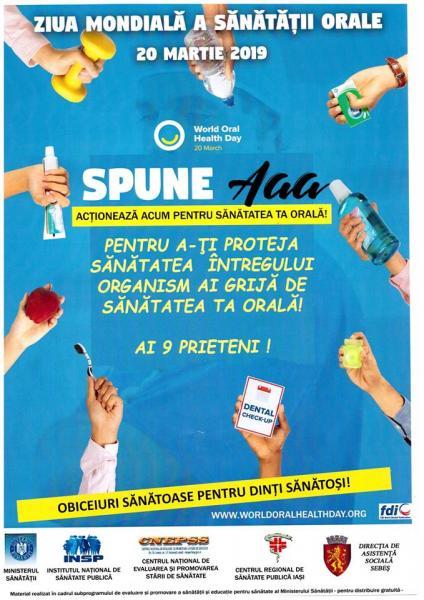 Sebeș – Campanie de informare privind sănatatea orală în toate unitățile de învățământ din municipiu și localitățile aparținătoare