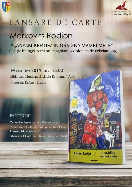 """Aiud – Lansare de carte bilingvă la Biblioteca Municipală """"Liviu Rebreanu"""""""