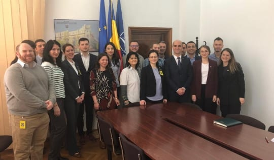 """Atelier de lucru cu subiectul """"Protejarea proprietății intelectuale"""", organizat de Poliția Română"""