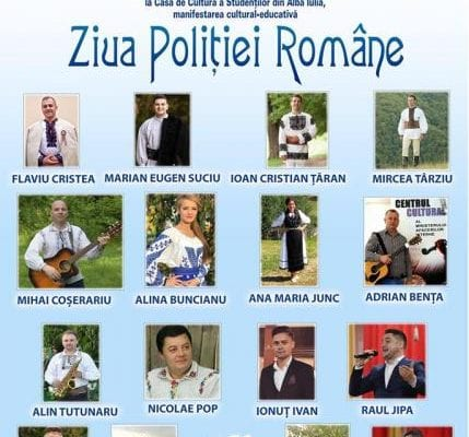 Ziua Poliției Române, aniversată și la Alba Iulia