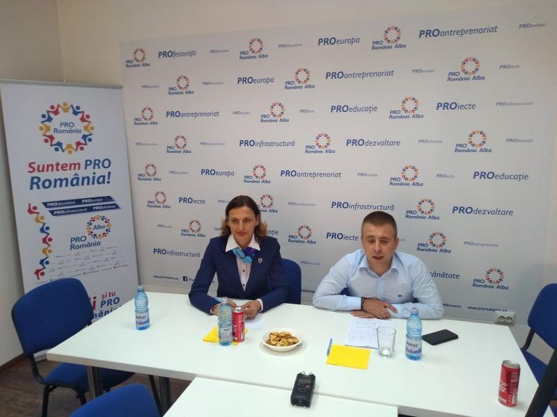 Consilierul local din Aiud, Ionela Danciu a decis să se înscrie în partidul Pro România