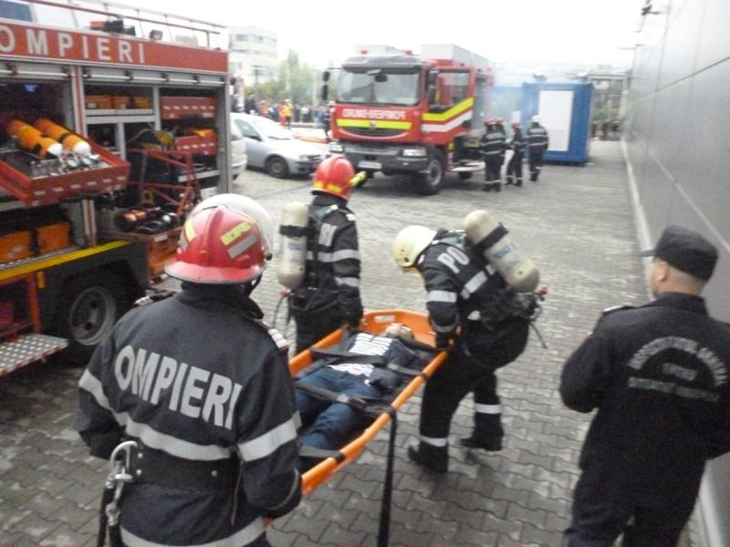 Exercițiu de reacție în cazul producerii unui cutremur devastator, resimțit în județul Alba