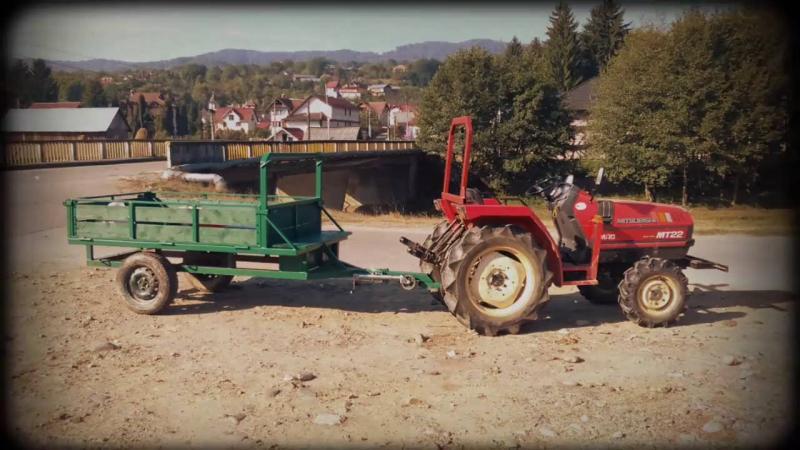 Baia de Arieș – Tractorist depistat în trafic de polițiștii rutieri cu o remorcă neînmatriculată