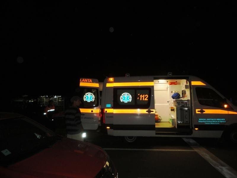 Teiuș – Un bărbat a fost acroșat mortal de o mașină pe DN 1