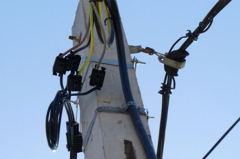 Cîmpeni – Trei imobile racordate ilegal la rețeaua de energie electrică, depistate de polițiști