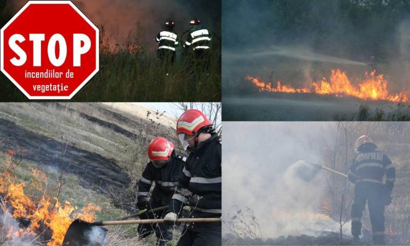 ISU Alba atrage atenția populației în legătură cu creșterea alarmantă a numărului de incendii de vegetație uscată