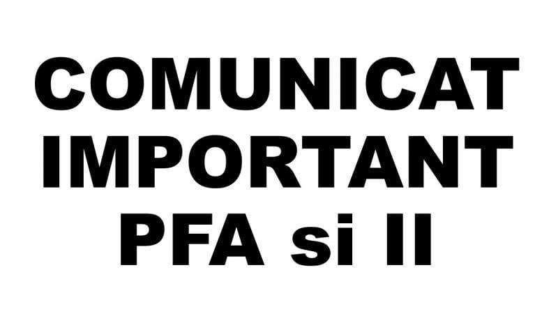 Registrul Comerțului – Anunț important pentru Persoanele Fizice Autorizate și Intreprinderile Individuale