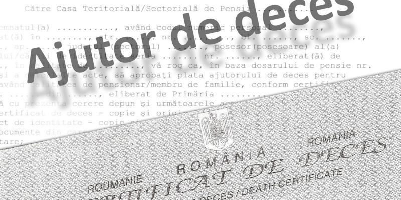 Începând de vineri, 15 martie se majorează ajutorul de deces