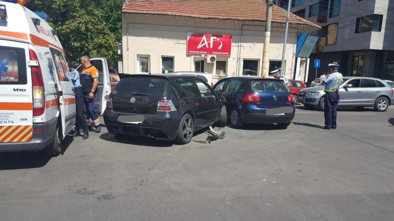 Vinerea – Coliziune între două mașini provocată de un șofer în stare avansată de ebrietate