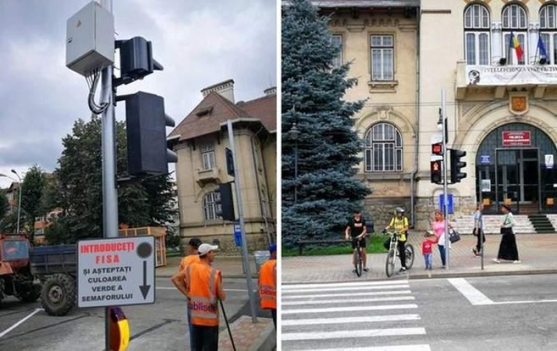 În curând, la Alba Iulia vor funcționa primele semafoare cu fise