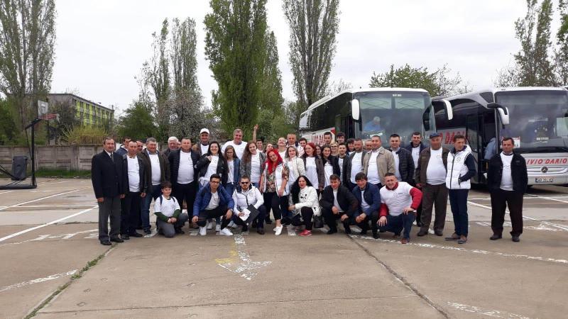 Peste 100 de membri ai PRO România din județul Alba, prezenți la București la lansarea candidaților pentru Parlamentul European
