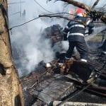 Teiuș - Un incendiu a izbucnit la o locuință din localitate