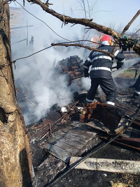 Teiuș – Un incendiu a izbucnit la o locuință din localitate