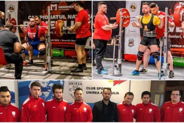 31 de medalii obținute de CS Unirea Alba Iulia la Campionatul Național de Powerlifting