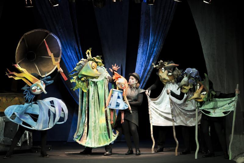 """Spectacolul """"Mica Vrăjitoare"""" al Teatrului de Păpuși """"Prichindel"""", selecționat la două festivaluri internaționale"""