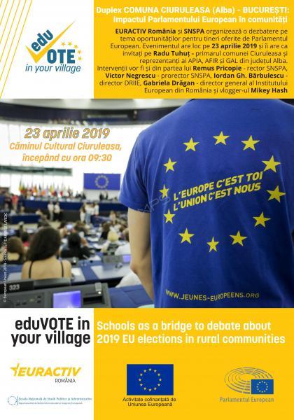 EURACTIV România organizează o dezbatere duplex între comuna Ciuruleasa (județul Alba) și București