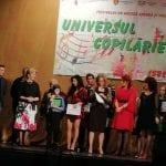 """Sebeș - A V-a ediție a festivalului de muzică ușoară și folk """"Universul copilăriei"""" și-a desemnat câștigătorii"""