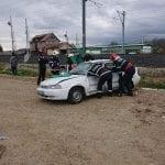 Accident soldat cu o victimă încarcerată pe șoseaua de centură din Alba Iulia (foto)