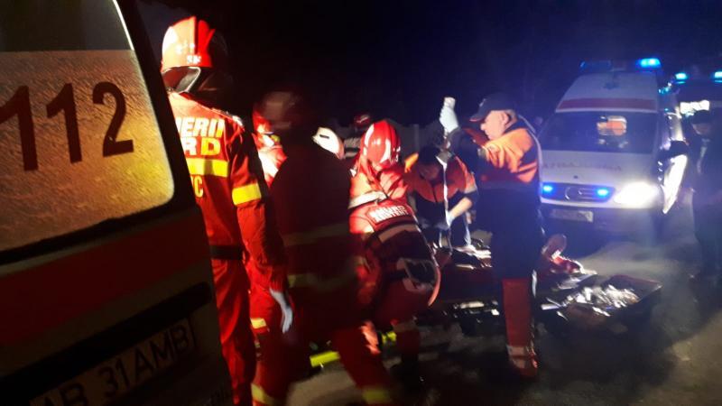 O persoană a decedat în urma unui accident care a avut loc în localitatea Strungari (foto)