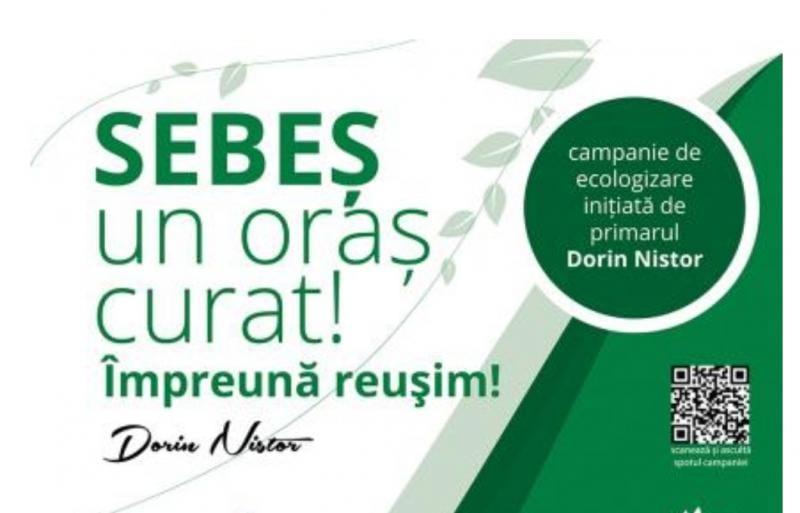 Sebeș – Municipalitatea invită cetățenii care locuiesc la blocuri să se alăture campaniei de ecologizare de sâmbătă, 13 aprilie