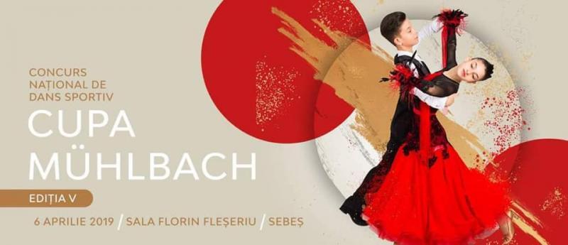 """Sâmbătă, 6 aprilie, la Sebeș are loc concursul național de dans sportiv ,,CUPA MÜHLBACH"""""""