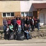 Marți, 16 aprilie la Cîmpeni a fost organizată o campanie de curățenie