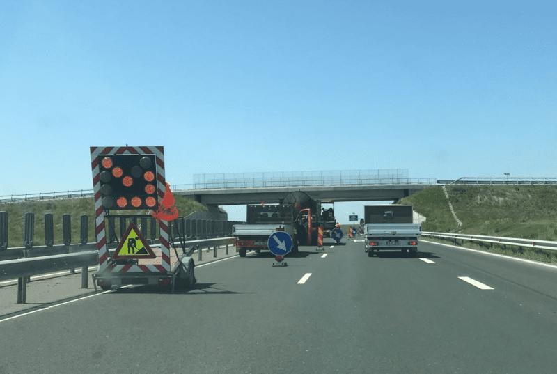 Atenție șoferi! Trafic restricționat pe Autostrada A1