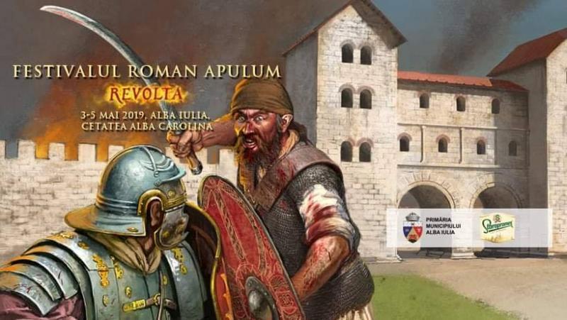 Alba Iulia găzduiește între 3 și 5 mai o nouă ediție a Festivalului Roman Apulum