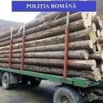 Gârda - Administratorul unei societăţi comerciale, prins cu 9,5 mc de lemne, nejustificați în acte
