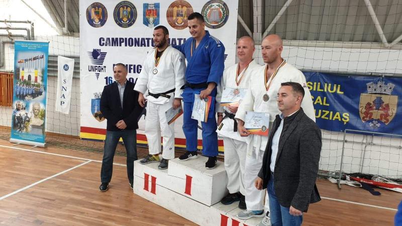 Medalie de bronz pentru un angajat al ISU Alba la Campionatul Naţional de Unifight al Ministerului Afacerilor Interne