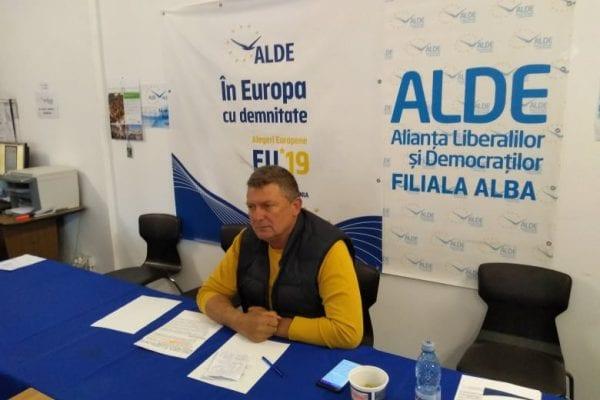 Ioan Lazăr, președinte ALDE Alba:''Există foarte puține localități din județul Alba unde alianța PSD+ALDE funcționează...''
