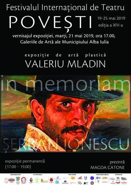 """Expoziție """"In memoriam: Șerban Ionescu"""", la Festivalul Internațional de Teatru """"Povești"""""""