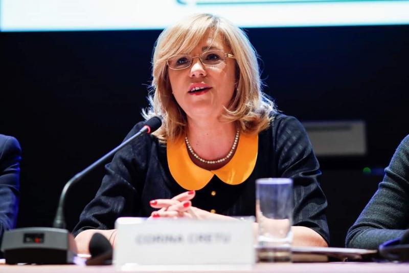 """Comisarul european Corina Crețu, apel către cetățeni înaintea alegerilor europene: """"Avem șansa de a ne decide viitorul!"""""""