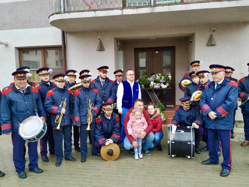 Concerte în aer liber susținute de Fanfara Petrești  în Sebeș, Lancrăm, Petrești și Răhău