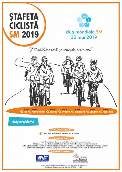 Ștafeta Ciclistă SM trece și în acest an prin Alba Iulia