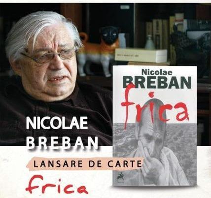 Academicianul Nicolae Breban, invitat al Târgului de Carte ''Alba Transilvana''