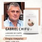 Poetul Gabriel Chifu, prezent la Târgul de Carte ''Alba Transilvana'' de la Alba Iulia