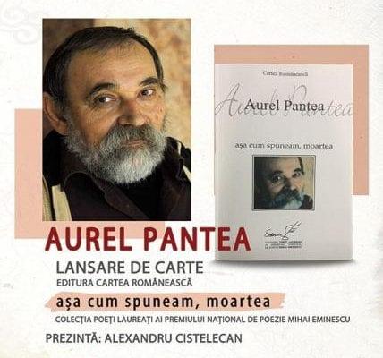 Aurel Pantea și Alexandru Cistelecan, prezenți la Târgul de Carte ''Alba Transilvana'', ediția a XII-a, 6-8 iunie 2019