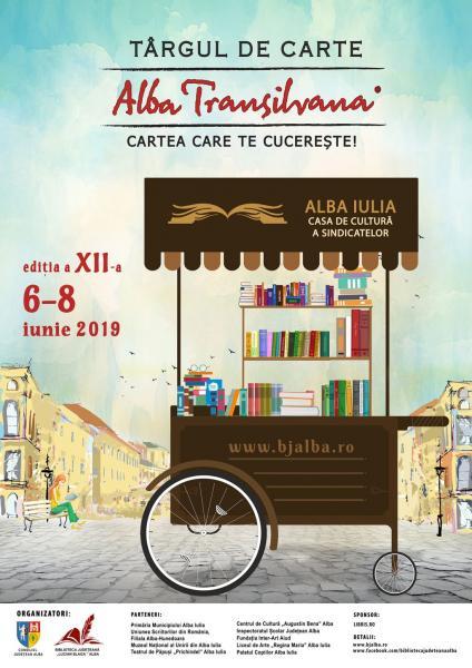 """Programul intergral al Târgului de carte """"Alba Transilvana"""", ediția a XII-a"""