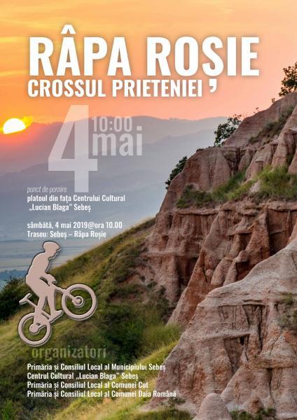 """Sâmbătă, la Sebeș este organizată prima ediție a """"Cross-ului Prieteniei – Râpa Roșie"""""""