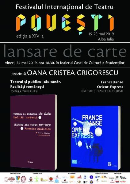 Dublă lansare de carte la Casa de Cultură a Studenților din Alba Iulia