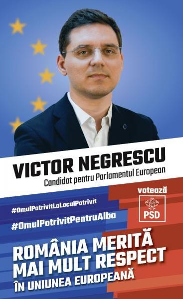 Europarlamentarul care a dus Alba în Europa – Victor Negrescu, omul potrivit la locul potrivit