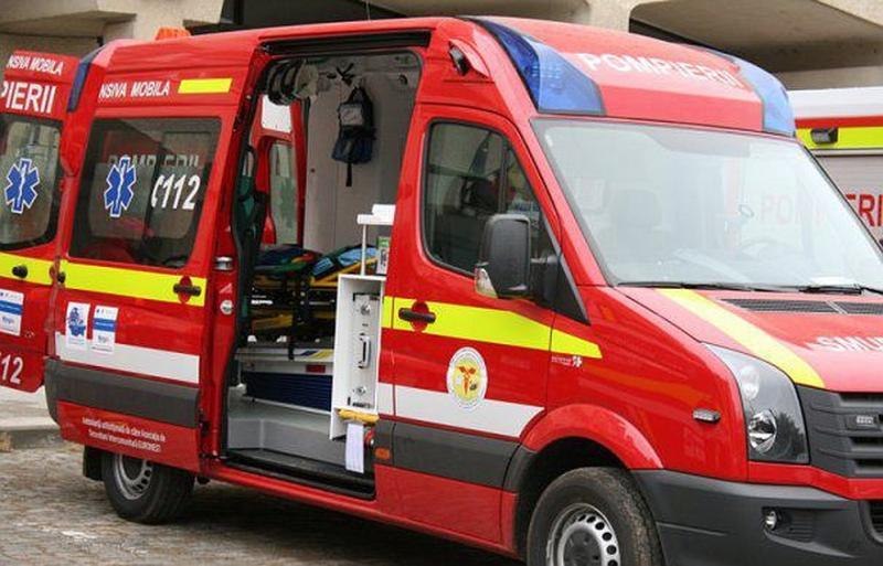 Două persoane au fost rănite în urma unui accident produs pe DN 1, între Teiuș și Aiud