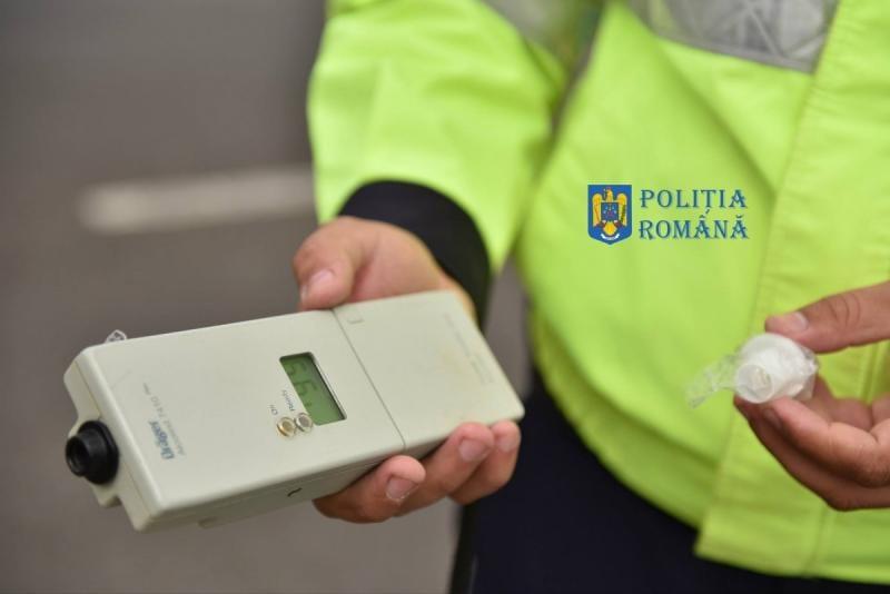 Alba Iulia – Un șofer este cercetat penal pentru conducere sub influența alcoolului