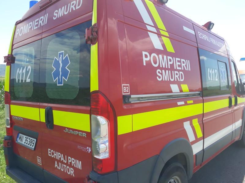 Blaj – Intervenție de urgență a pompierilor pentru verificarea stării de sănătate a unei femei de 72 de ani