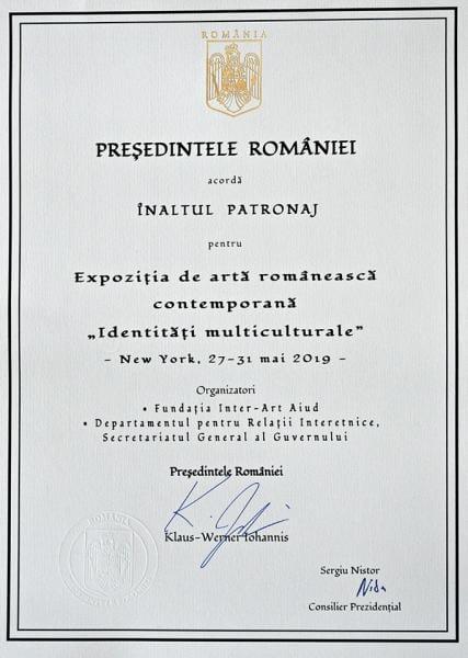 Expoziție de artă românească organizată în Statele Unite de Fundația Inter-Art Aiud