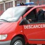 Teiuș - O persoană a rămas încarcerată în mașină în urma unui accident produs la ieșirea din oraș