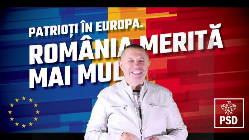 Maneaua electorală dedicată PSD, în interpretarea lui Nicolae Guță, a fost ștearsă de pe YouTube