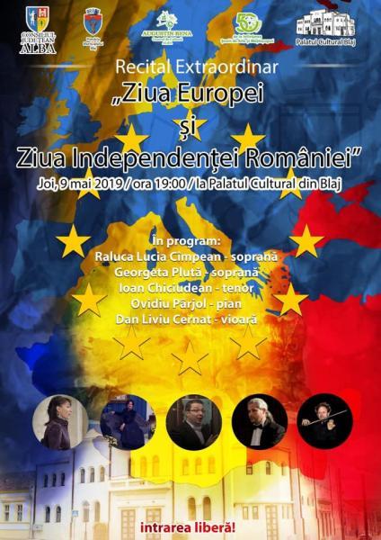 Blaj – Recital extraordinar dedicat zilei istorice de 9 mai