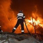 Zlatna - O locuință a fost cuprinsă de flăcări pe strada Mihai Viteazu, nr 10